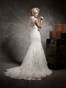 vintage ivory strpaless sweetheart fit and flare wedding With flare wedding dresses