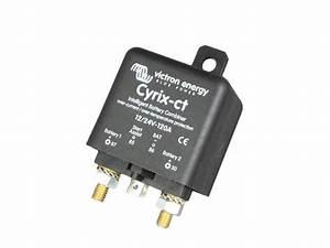 Victron Cyrix Ct Battery Combiner 12v    24v 120a