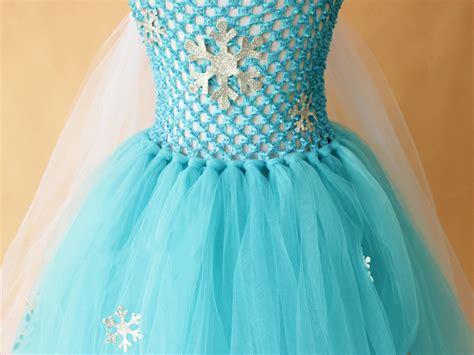 Princess Elsa Tutu Dress For Baby Girls