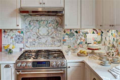 vintage cottage kitchen remodel  nutley nj interior