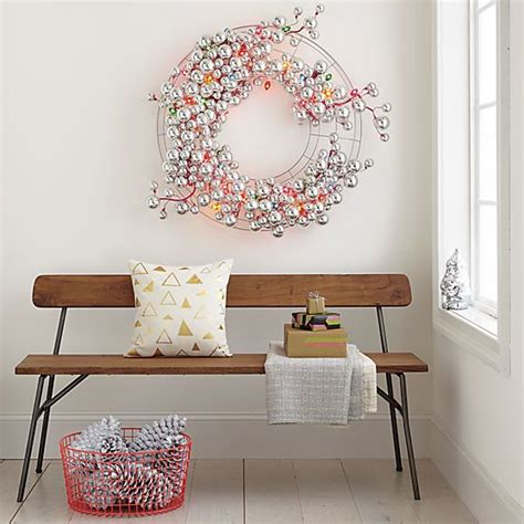 wire wreath hobby lobby string lights and wire
