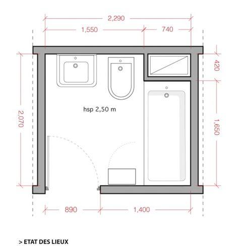 Plan D Une Salle De Bain  Comment Aménager Une Salle De