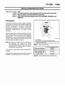 Kohler 12res Adc 2100 Controller