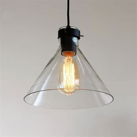 country pendant light iron glass ceiling lights chain