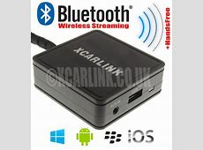 VW Wireless Bluetooth Streaming Handsfree Interface for