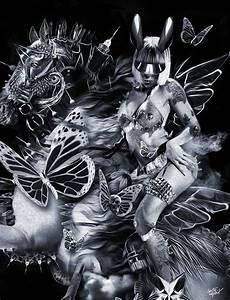 Fantasmagorik, U00ae, Dark, Rider, On, Behance
