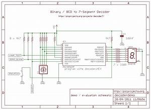 Binary  Bcd To 7-segment Decoder