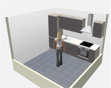 logiciel conception cuisine 3d gratuit 8 plans de cuisines pour une pièce carrée cuisine plus