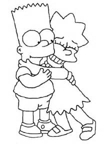 Krafty Kidz Center The Simpson Coloring Pages