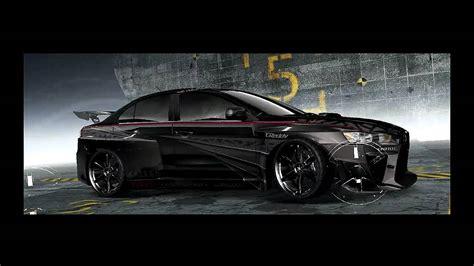 speed prostreet customized cars mitsubishi evo
