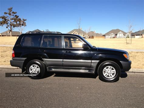 sporty lexus 4 door 1999 lexus lx470 base sport utility 4 door 4 7l
