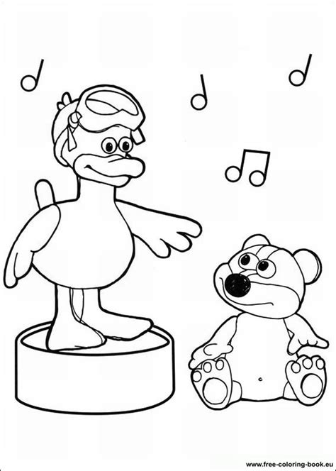 Coloring Time by Coloring Pages Timmy Time Page 1 Printable Coloring
