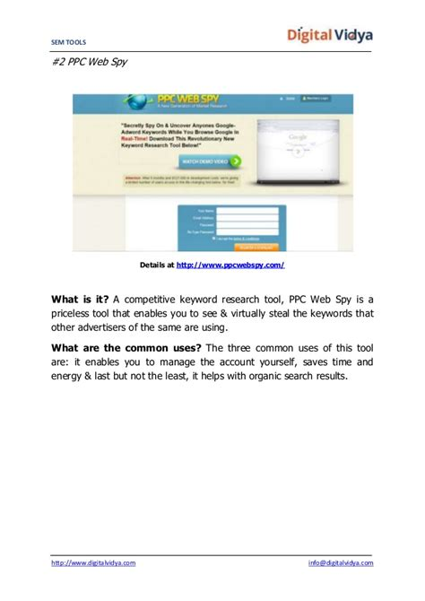 Search Engine Marketing Tools by Top 20 Search Engine Marketing Sem Tools