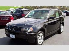 2006 BMW X3 30i AWD Navigation Manheim imports YouTube