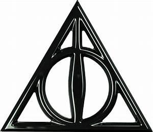 Deathly Hallows Chrome Premium Emblem | Harry Potter ...