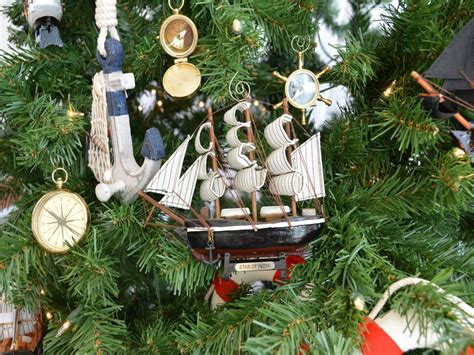 buy wooden star of india model ship christmas tree ornament wholesale