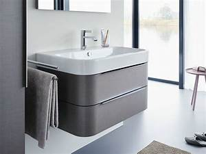 Happy d2 vanity unit by duravit design sieger design for Salle de bain design avec vasque duravit