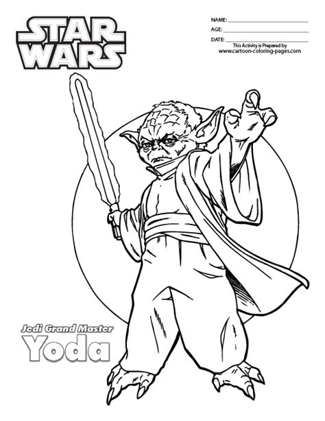 star wars coloring pages yoda coloring pages  coloring