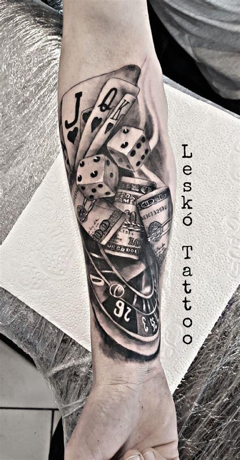 poker dollar tattoo  tatuagem tatuagens jogo