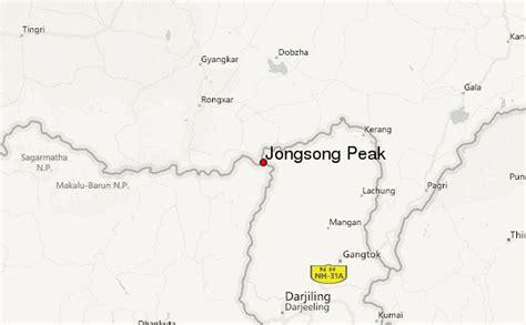 Jongsong Peak Mountain Information