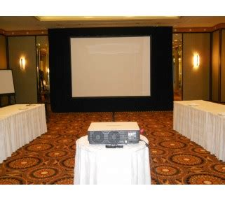 projection screen dress kit rentals san francisco