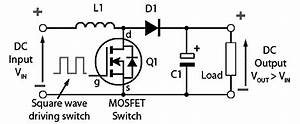how does the simple circuit of a boost step up dc dc With dc converter circuit 12 volt dc converter step up dc converter circuit