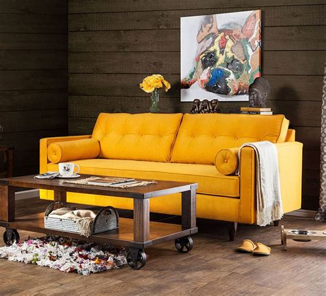 madelyn sofa yellow living room furniture living