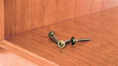 grk cabinet screws grk fasteners low profile cabinet