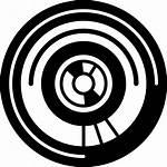Circuit Electronic Circular Icon Vector Technology Icons