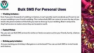 i have to send around 500 600 sms invitations within With wedding invitations sms messages