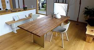 Esstisch Glas Holz Design : esstische couchtische und schreibtische aus massivholz und metall von glas holzdesign vrisk ~ Bigdaddyawards.com Haus und Dekorationen