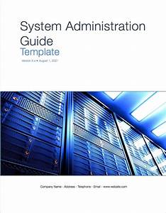 System Administrator Guide Template  Apple Iwork Pages