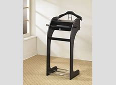 Youngtown Men's Valet Stand Modern Clothing Valets And