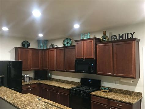pinterest decorate top  kitchen cabinets decorating