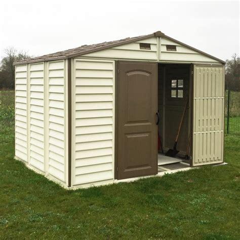 Abri De Jardin En Pvc Woodstyle Premium 7,68m² Duramax