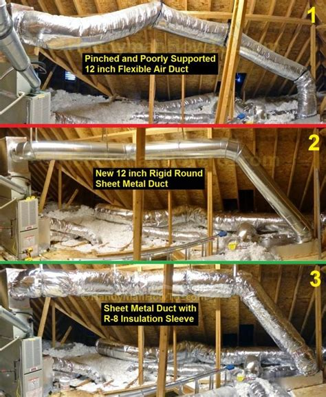 install  sheet metal duct air duct air duct