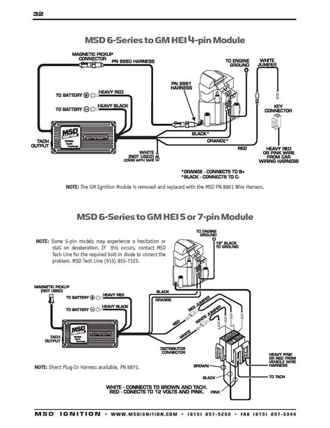 Ford Hei Distributor Wiring Diagram by Gm Hei Distributor Wiring Schematic Free Wiring Diagram