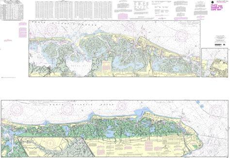 noaa chart  intracoastal waterway  egg harbor  cape  atlantic city