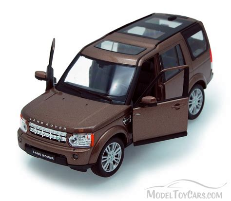 Land Rover Discovery Brown Welly 24008 1 24 Scale