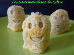Recette Halloween Salé : biscuits souffl s d 39 halloween aux rillettes de thon par ~ Melissatoandfro.com Idées de Décoration
