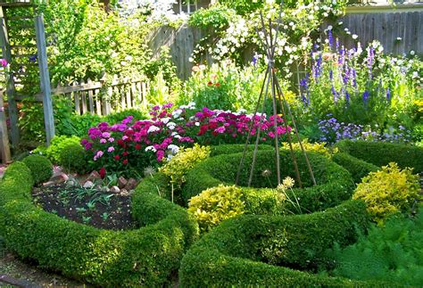How To Design A Potager Herb Garden  Herb Garden Design