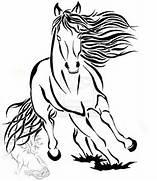 Running Tribal Horse D...