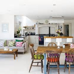 open plan kitchen diner ideas open plan family kitchen diner family kitchen design ideas housetohome co uk