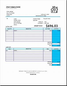 download home repair invoice template free rabitahnet With home repair invoice template