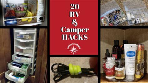 rv  camper hacks   dime   liberty