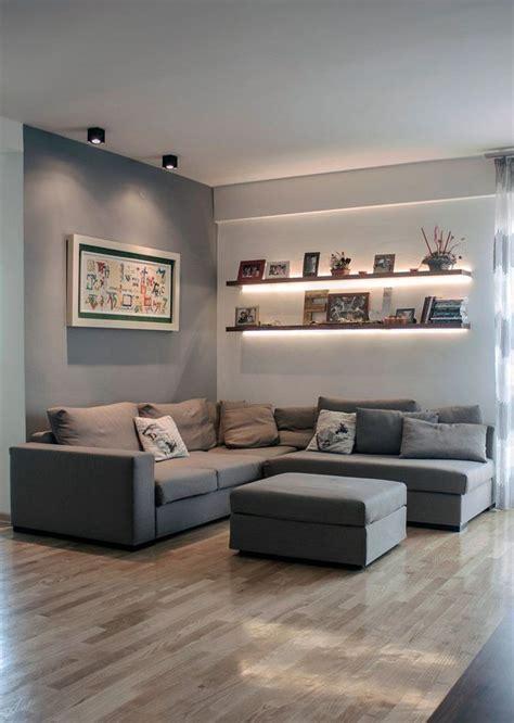 Dekoration Wohnzimmer Wände by Die Besten 25 Graue W 228 Nde Ideen Auf Graue