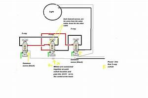 3 Way Light Switch And Relay Wiring Diagram With Driving