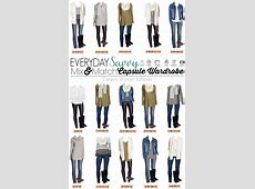 Target Winter Capsule Wardrobe Easy Winter Outfits
