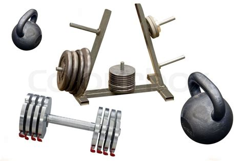 Different Kinds Of The Weight Lifting Equipment