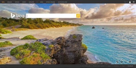Bing Homepage Features Bermuda Beach Bernews